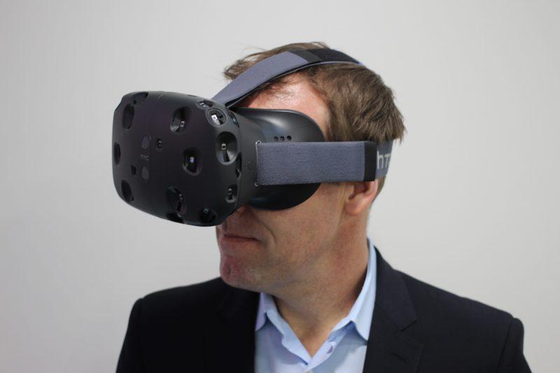 Un autre modèle haut de gamme : le Vive, de l'entreprise HTC